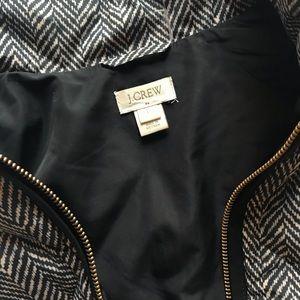 J. Crew Jackets & Coats - J. Crew Printed Herringbone Quilted Puffer Vest, L